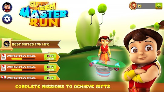 Super Bheem Master Run MOD Apk (Unlimited Money) 6