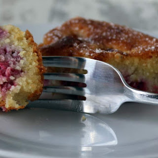 Gluten Free Raspberry, Lemon And Almond Cake