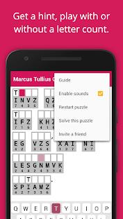 Cryptogram Cryptoquote Puzzle Juegos (apk) descarga gratuita para Android/PC/Windows screenshot
