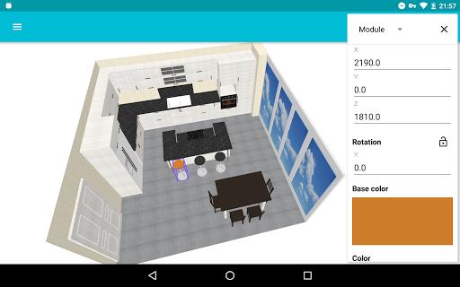 Kitchen Planner 3D 1.9.1 screenshots 1