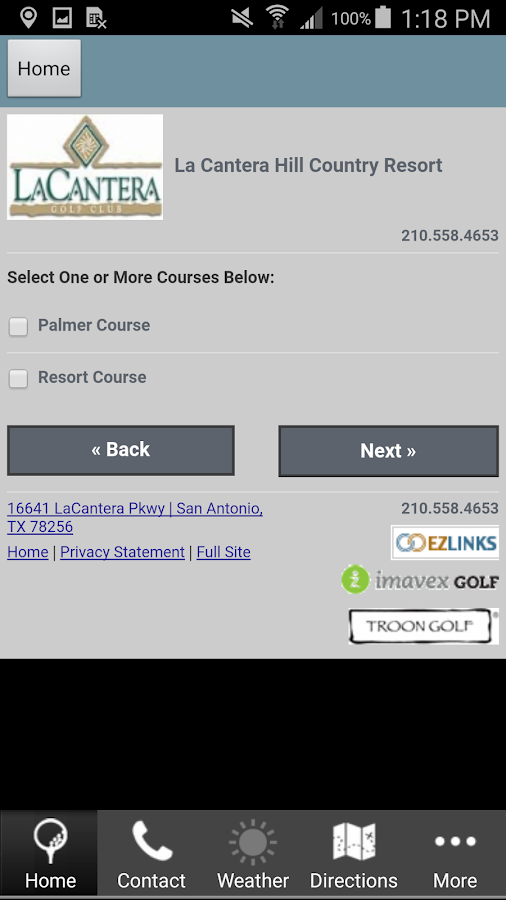 The Palmer Course La Cantera- screenshot