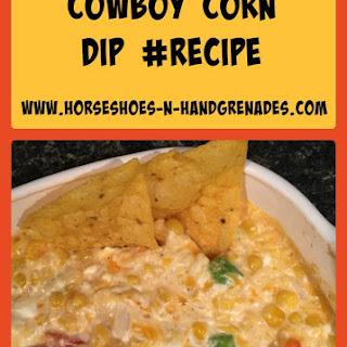 Cowboy Corn Dip #WUHomeCooked