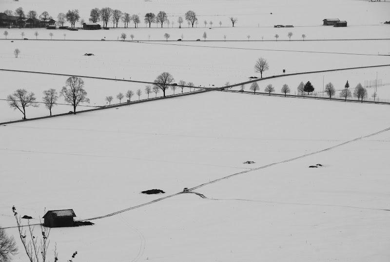 Foglio di neve di bumbum