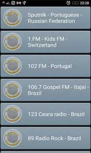 RadioFM Portuguese All Stations - náhled