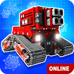 Blocky Cars - Online Shooting Game Icon