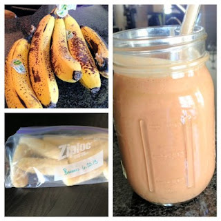 Frozen Banana & Cacao Smoothie