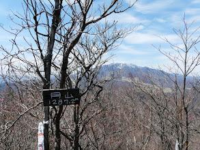 Photo: 山頂で