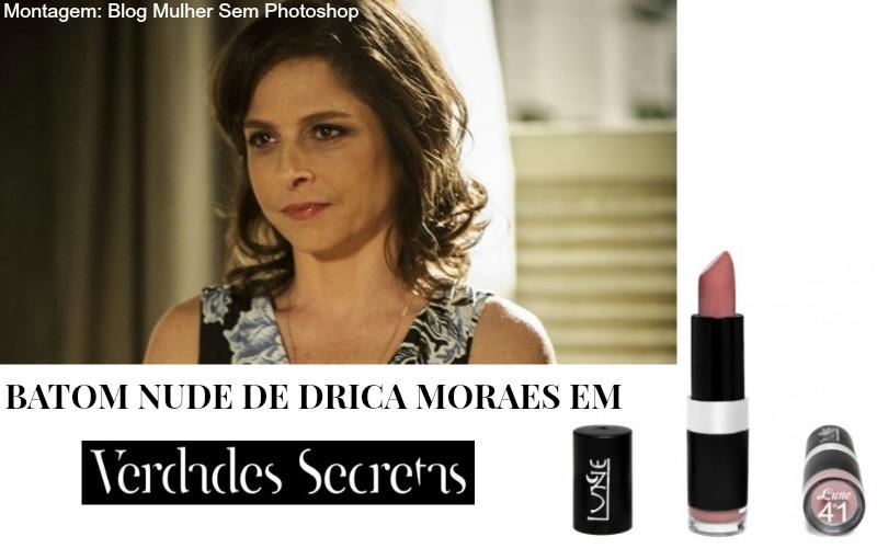 O batom nude de Drica Moraes em Verdades Secretas