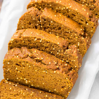Healthy Pumpkin Bread.