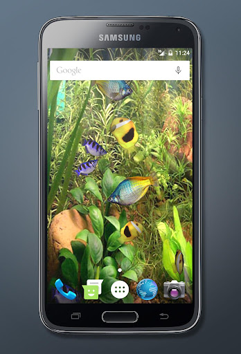 Aqua 3D Pro Live Wallpaper screenshot
