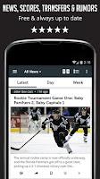 Screenshot of Sportfusion - NHL News Edition