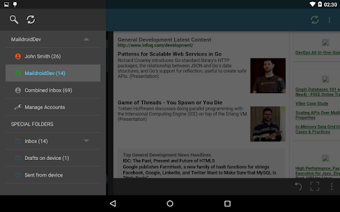 MailDroid – Free Email Application App Latest Version  Download For Android 10