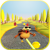 Chicken Adventure Run Game