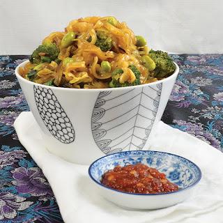 Indonesian Stir-Fried Noodle Bowl.