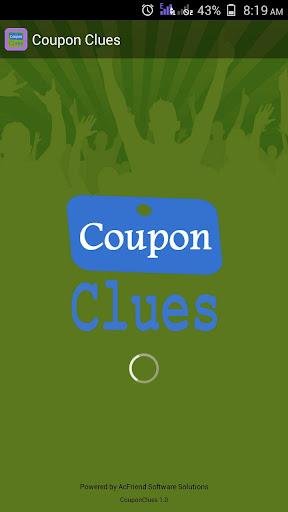 Coupon Clues