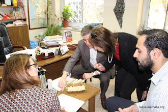 Photo: Rencontre à l'école latine à Bir Zeit