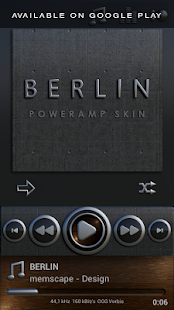 BERLIN Digital Clock Widget- screenshot thumbnail