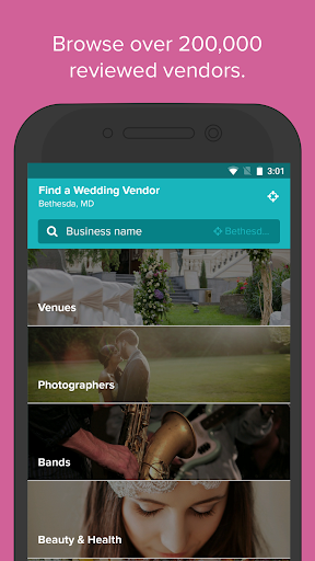 Wedding Planner by WeddingWire - Checklist, Venues Screenshot