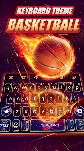 Slam Dunk Keyboard Theme - náhled