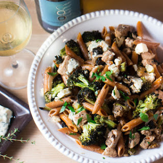 Chicken, Roasted Broccoli, & Bleu Cheese Penne
