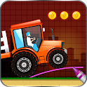 Brain On Truck Physics Line Game icon
