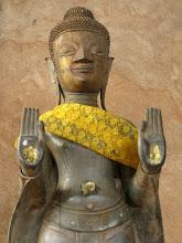 Photo: Buddha statue (Haw Pha Keo, Vientiane)