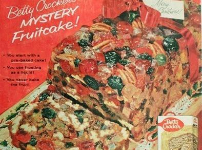Betty Crocker Mystery Fruitcake (1957) Recipe