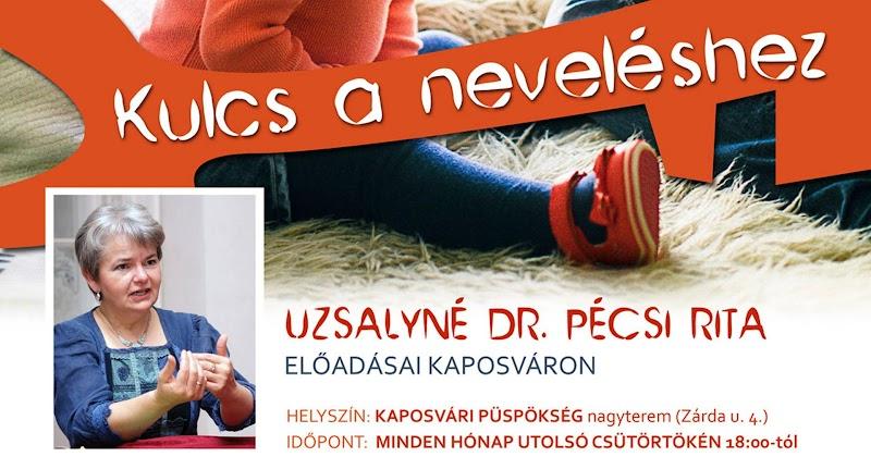 Kulcs a neveléshez - előadássorozat Kaposváron 2019 - 2020