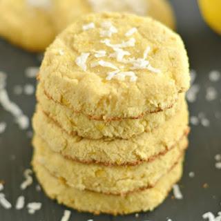 Coconut Flour Lemon Cookies
