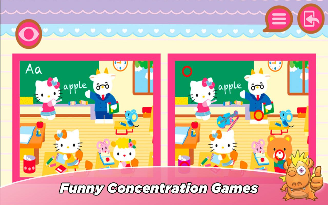 Hello Kitty All Games for kids- screenshot
