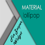 material lollipop ZooperWidget Icon