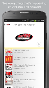 AM 560 TheAnswer- screenshot thumbnail