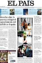 Photo: Bruselas abre la puerta a relajar el cumplimiento del déficit en España, la ruptura entre el duque de Palma y su exsocio deriva en amenazas y un especial sobre el primer aniversario del 15M, en nuestra portada del domingo 6 de mayo de 2012 http://srv00.epimg.net/pdf/elpais/1aPagina/2012/05/ep-20120506.pdf