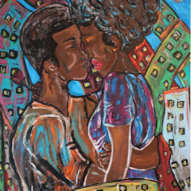 Boo'd up by Jeff Jeudy - Painting All Painting