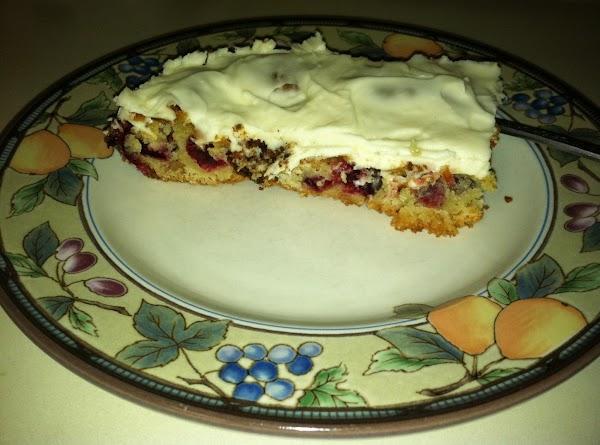Cranberry Bars The Best ! Recipe