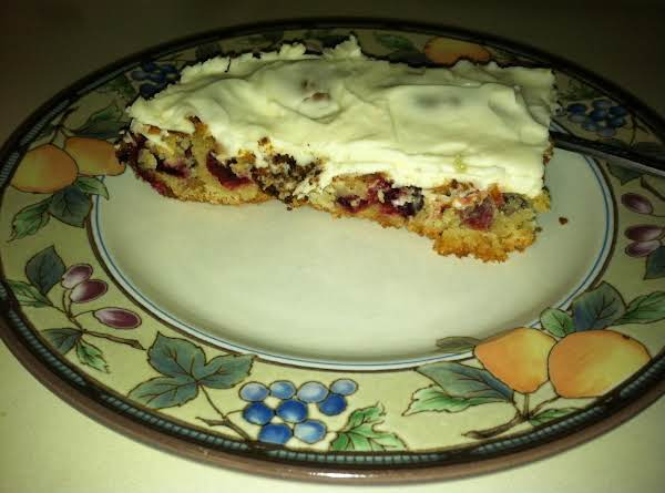 Cranberry Bars The Best !