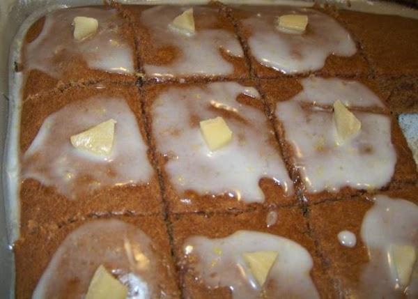 Gingerbread Brownie Bars Recipe
