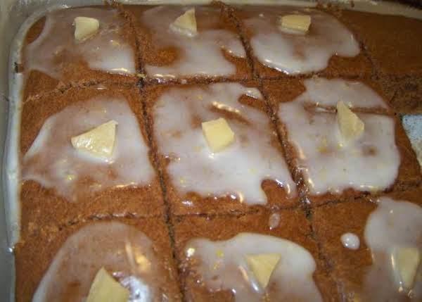 Gingerbread Brownie Bars