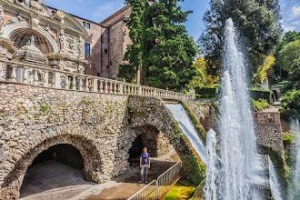 Photo: Daniele at The Organ Fountain (Fontana dell'Organo) in Villa d'Este in Tivoli, Lazio, Italy
