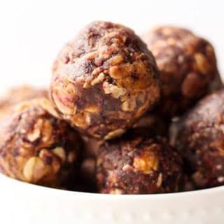 Peanut Butter & Jelly Energy Balls.