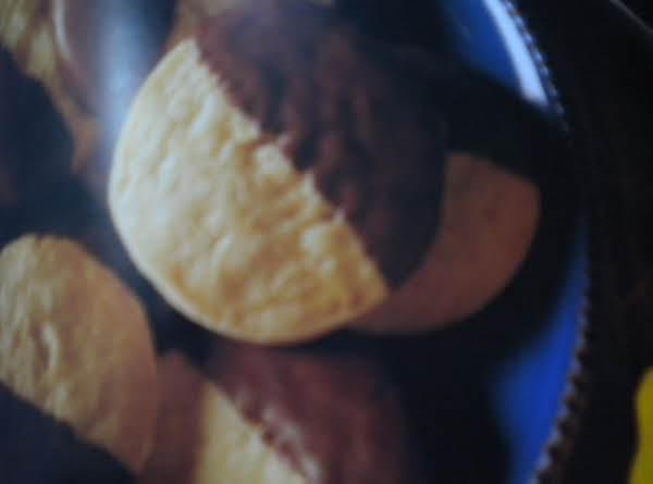 Chocolate Dipped Lemon Cookies