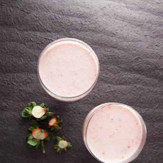 Low Carb Quick Strawberry Smoothie.