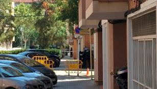 Fachada del edificio donde viviva el presunto terrorista