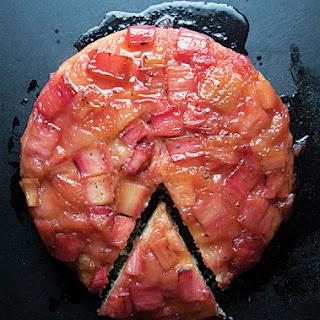 Rhubarb Tarte Tatin Recipe