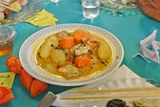 Photo: Curry végétarien fait par Evelyne