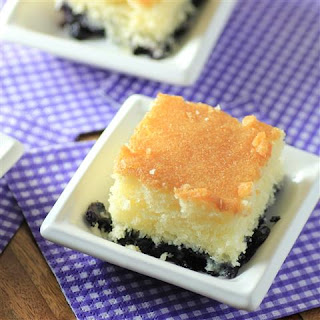 Blueberry Breakfast Cake #SundaySupper