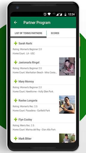 Tennis League Network App 3.18 screenshots 2