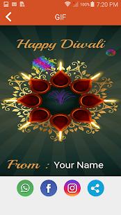 Diwali Gif Maker With Name Slunecnice Cz