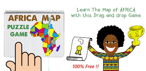 Africa Map Puzzle Drag & Drop   Apps on Google Play