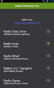 Radios FM Bosnian Free - náhled